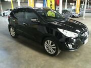 2012 Hyundai ix35 LM MY12 Highlander (AWD) Black 6 Speed Automatic Wagon Ottoway Port Adelaide Area Preview