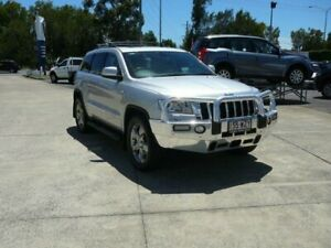 2012 Jeep Grand Cherokee WK MY12 Overland (4x4) Silver 5 Speed Automatic Wagon Rothwell Redcliffe Area Preview