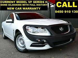 2015 Holden Ute VF MY15 White 6 Speed Automatic Utility Ellenbrook Swan Area Preview
