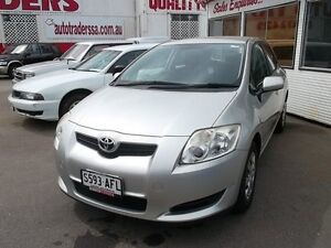 2009 Toyota Corolla ZRE152R MY10 Ascent Silver Metallic 6 Speed Manual Hatchback Woodville Park Charles Sturt Area Preview