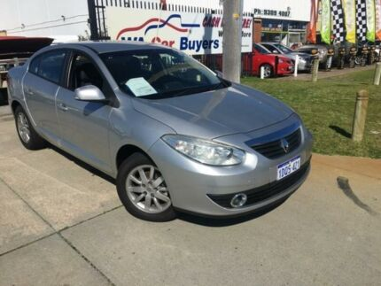 2010 Renault Fluence X38 Dynamique Silver Automatic Sedan Wangara Wanneroo Area Preview