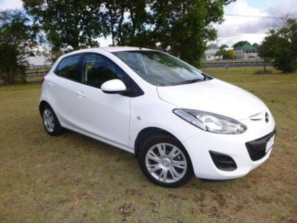 2012 Mazda 2 DE MY13 Neo 5 Speed Manual Hatchback Miles Dalby Area Preview