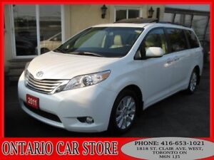 2011 Toyota Sienna Limited AWD TOP OF THE LINE NAVIGATION