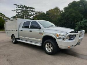 2008 Dodge Ram 3500 4x4 Silver 5 Speed Automatic 4x4 Dual Cab Homebush West Strathfield Area Preview