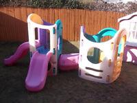 Little Tikes 8 in 1 Childrens garden climbing frame