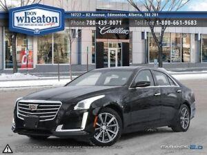 2017 Cadillac CTS 3.6L LUXURY ALL WHEEL DRIVE BLACK ON BLACK