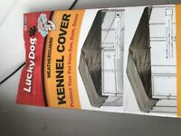 New in box -  Lucky Dog kennel cover (10'x10')