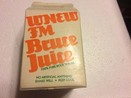 Bruce Springsteen Bruce Juice Promo Carton 1980 Madison Square Garden
