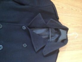 Men's warm winter coat, Black , Peter Werth of London