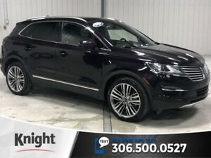 2015 Lincoln MKC Reserve, AWD, Leather, Navigation, Local Trade,