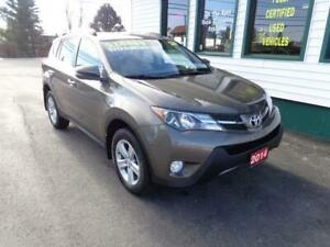 2014 Toyota RAV4 XLE AWD for only $198 bi-weekly all in! (5yrs)