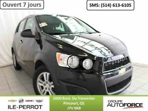 2014 CHEVROLET SONIC HATCH LT, BLUETOOTH, DEMARR