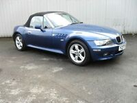 BMW Z3 1.9 Z3 ROADSTER 2d 138 BHP Bargain to clear (blue) 2001