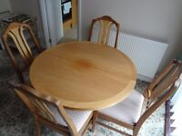 Dining table, sofa, unit, hi-fi cabinet all excellent condition