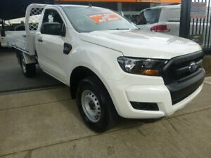 2015 Ford Ranger PX MkII XL 4x2 Hi-Rider White 6 Speed Sports Automatic Cab Chassis Merrylands Parramatta Area Preview