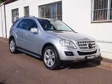2011 Mercedes-Benz ML350 CDI W164 MY11 Silver 7 Speed Sports Automatic Wagon Petersham Marrickville Area Preview