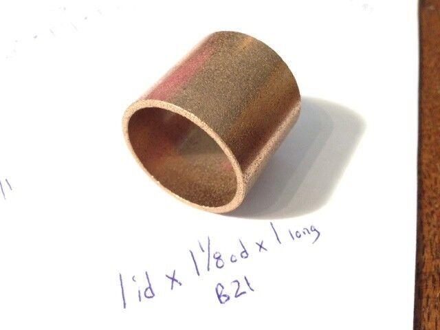 Oilite Bushing Bronze 2 id x 2-1//2 od x 3 Bearing Sleeve Spacer