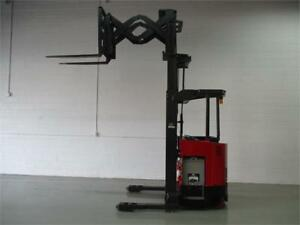 Forklift Raymond Deep reach , Lift truck electric sale