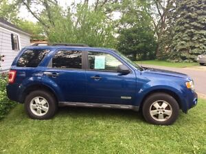 2008 Ford Escape XLT SUV, LOW KM, As-Is