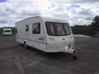 2006 BAILEY PAGEANT BURGUNDY FIXED BED 4 BERTH CARAVAN ANDERSON CARAVAN AND MOTORHOME SALES