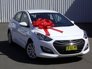 2014 Hyundai i30 GD2 Active White 6 Speed Sports Automatic Hatchback Kings Park Blacktown Area Preview