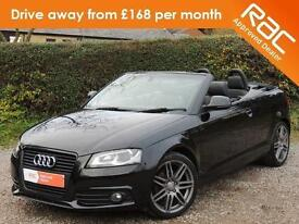 2009 AUDI A3 2.0 TDI S LINE BLACK EDITION CONVERTIBLE CONVERTIBLE DIESEL