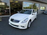2011 Infiniti G25 Sedan G25X AWD - Leather, Sunroof, Loaded