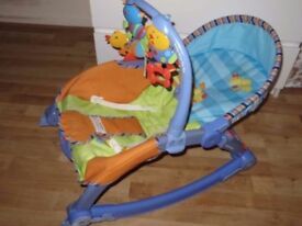 Fisher price 2in1 bouncer to chair