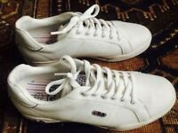 Fila Leather Trainer, Size 7.5/41.5