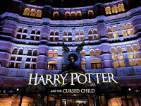 Harry Potter and the Cursed Child. 2 tickets for evenings Thurs 31 Aug & Sat 2 Sept