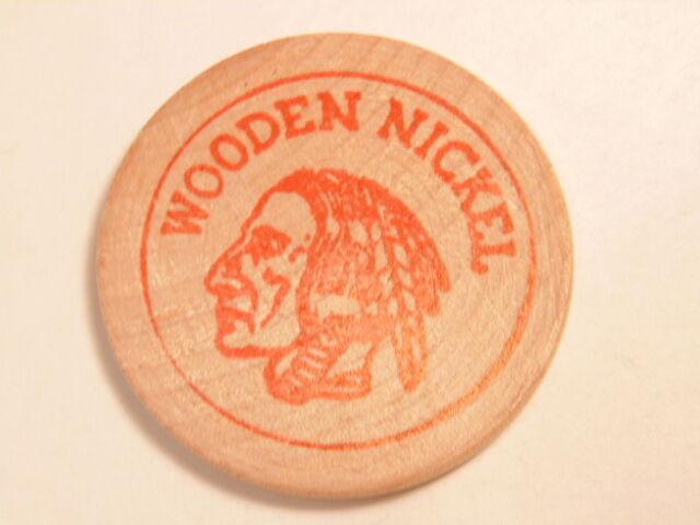 1969 Falcons Stamp & Coin Society, Buffalo, NY souvenir wooden nickel