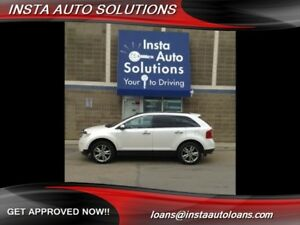 2013 Ford Edge Limited roof nav remote starter warranty included