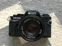 Ricoh KR-10x Camera with Rikenon P 50mm 1:2 lense