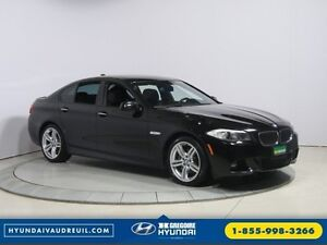 2013 BMW 5 Series XDRIVE M PACK + SAFETY + EXCECUTIVE PACK BLUE