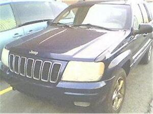 2002 JEEP GRAND CHEROKEE LIMITED, RÉDUIT 1980$. 514-817-0095