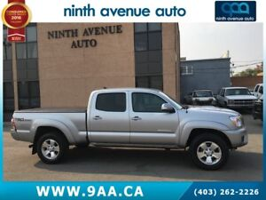 2015 Toyota Tacoma V6 4x4 Double-Cab long box, Heated seats
