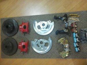 62 to 67 Chevy 2 Disc Break Kit Complete Setup All Brand New