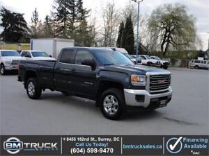 2017 GMC SIERRA 2500HD SLE DOUBLE CAB LONG BOX 4X4