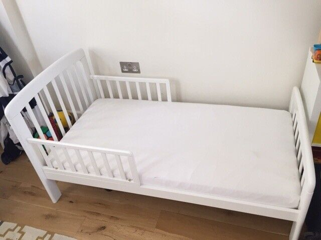 new product 1b4ae 00460 John Lewis Kids Bed / Toddler Bed / Child's Bed (incl. Mattress) £238 new  ONLY £100   in South Kensington, London   Gumtree