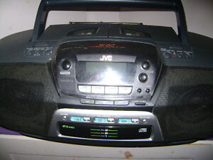 JVC PORTABLE STEREO