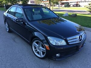 2010 MERCEDES BENZ C350 4MATIC/NAVI/PANO/AMG/1 OWNER/NO ACCIDENT