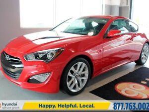2016 Hyundai Genesis Coupe 3.8 PREMIUM-Nav-BU Cam-Sunroof-Leathe