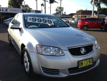 2011 Holden Commodore VE II Omega Silver 6 Speed Automatic Sedan