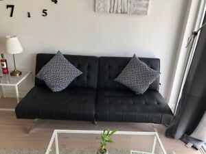 Faux Leather sofabed(twin)