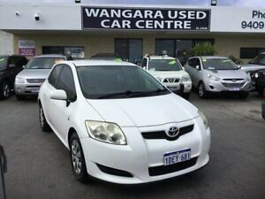 2009 Toyota Corolla ZRE152R MY09 Ascent White 4 Speed Automatic Hatchback Wangara Wanneroo Area Preview
