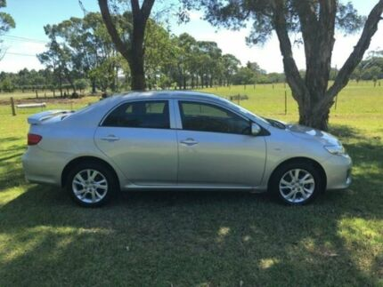 2012 Toyota Corolla ZRE152R MY11 Ascent Sport Silver 6 Speed Manual Sedan
