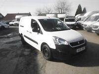 Peugeot Partner L2 715 S 1.6 Hdi 92 Crew Van DIESEL MANUAL WHITE (2016)