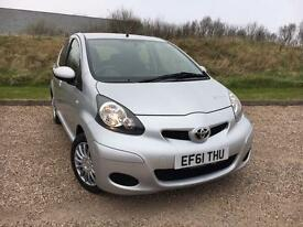 TOYOTA AYGO 1.0 AYGO ICE 5 DOOR 2011 61 *LOW MILES CLEAN CAR, NEW MOT*