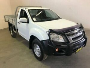 2016 Isuzu D-MAX MY15 SX White Manual CAB CHASSIS SINGLE CAB Westdale Tamworth City Preview
