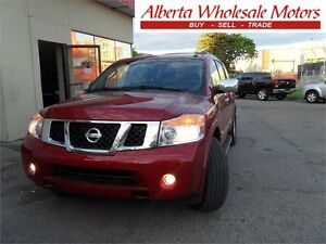 2008 NISSAN ARMADA LE 4X4 7 PASSENGER LOADED WE FINANCE ALL